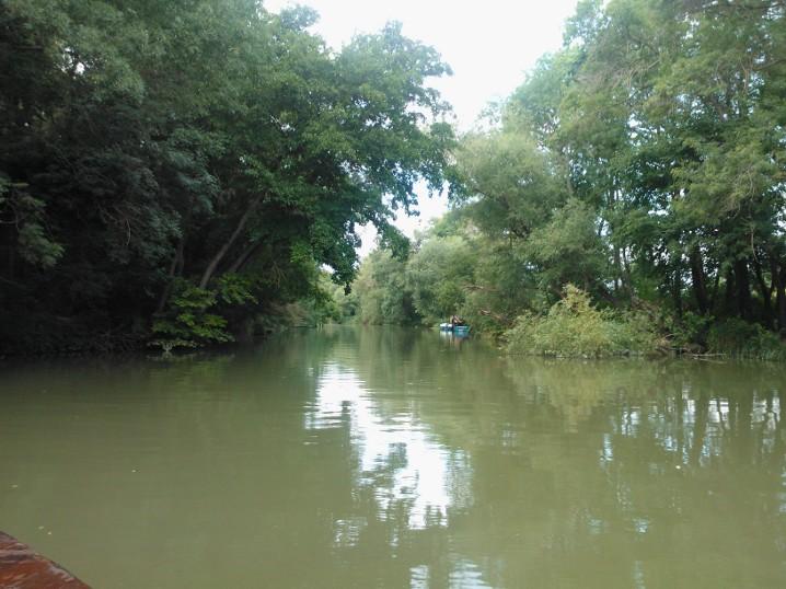 Flodsejlads ved Kamchia
