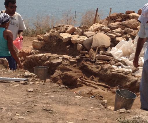 Nye udgravninger ved Cape Kaliakra