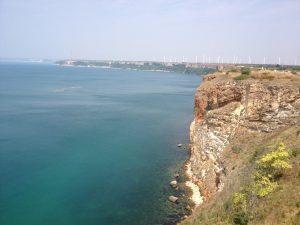 Cape Kaliakra i Bulgarien