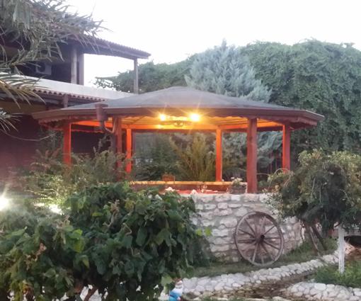 Helt fantastiske udendørs arealer på Hotel Wild Duck